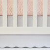 Oliver B Flat Panel Scallop Crib Skirt