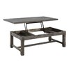Emerald Home Furnishings Paladin Coffee Table with Lift Top