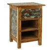 Antique Revival Rustic Valley Nightstand