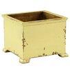 Antique Revival French Wood Planter Box - Color: Butter - Antique Revival Planters