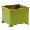 Antique Revival French Wood Planter Box - Color: Green - Antique Revival Planters