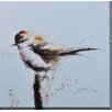 Antique Revival Sparrow Framed Painting Print
