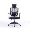 """Antique Revival Justinian 35.5"""" Adjustable Office Chair with Arms"""