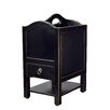 Antique Revival Magazine Holder with Drawer