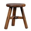 Antique Revival Asian Vintage Round Top Kids Stool