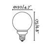 Faro 30W E27/Medium Light Bulb (Set of 10)