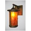 Steel Partners Rogue River Pasadena Hanging 1 Light Wall Sconce