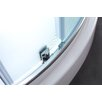 """Ove Decors Breeze 31"""" x 31"""" x 76"""" Neo - Angle Frosted Glass Kit"""