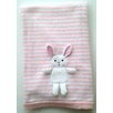 The Little Acorn Bunny 3D Stroller Blanket