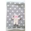 The Little Acorn Lamby 3D Stroller Blanket