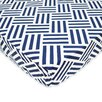 American Baby Company Percale Parquet Fitted Crib Sheet