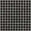 "Interceramic Shimmer 1"" x 1"" Ceramic Mosaic Tile in Midnight"