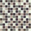 "Interceramic Shimme Blends 1"" x 1"" Ceramic Mosaic Tile in Autumn"