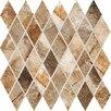 "Marazzi Vesale Stone 2"" x 3.5"" Porcelain Mosaic Tile in Rust"