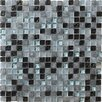 Marazzi Crystal Glass and Stone Mosaic Tile in Marine
