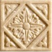 "Marazzi Romancing the Stone 2"" x 2"" Compressed Stone Diamond Insert in Ivory (Set of 3)"