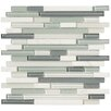 Marazzi Crystal Stone II Random Sized Glass Mosaic Tile in Pearl