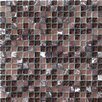 Marazzi Random Sized Crystal Glass and Stone Mosaic Tile in Purple