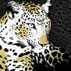 Eurographics Leinwandbild Jaguard, Grafikdruck