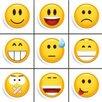 Eurographics Smile 9-Piece Magnet Set