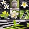 Eurographics Zen Collage 6-Piece Magnet Set