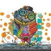 Eurographics Mr. Owl Graphic Art