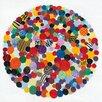 Eurographics Gerahmtes Leinwandbild Buzzing Circles