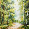 Eurographics Walking Through Trees Wall Art on Canvas