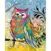 Eurographics Rainbow Owl Wedge Frame Art