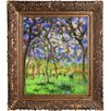 Tori Home Giverny in Springtime by Claude Monet Framed Painting Print