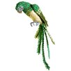 Tori Home Tropical Paradise Life-Size Parrot Bird with Tail Feathers