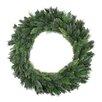 Tori Home Mixed Long Needle Pine Unlit Artificial Christmas Wreath