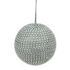 Tori Home Glamorous Rhinestone Christmas Ball Ornament