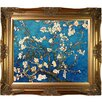 Tori Home 'Branches of an Almond Tree in Blossom' by Vincent Van Gogh Framed Original Painting