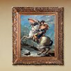 Tori Home 'Napoleon Crossing the Alps, 1801' by Jacques Louis David Framed Original Painting