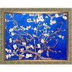 Tori Home 'Branches of an Almond Tree in Blossom' by La Pastiche Framed Original Painting on Canvas