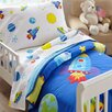 Wildkin 3 Piece Olive Kids Out of This World Toddler Sheet Set