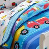 Wildkin Olive Kids Trains, Planes and Trucks Toddler Comforter