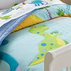 Wildkin Olive Kids Dinosaur Land Toddler Comforter