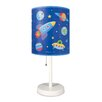 "Wildkin Olive Kids 18"" Out of this World Cylinder 18"" Table Lamp with Drum Shade"
