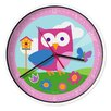 "Wildkin Olive Kids Birdie 12"" Wall Clock"