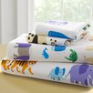 Wildkin Olive Kids Endangered Animals 210 Thread Count 100% Cotton Sheet Set