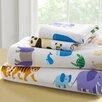Wildkin Olive Kids Endangered Animals Toddler 210 Thread Count 100% Cotton Sheet Set