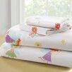 Wildkin Olive Kids Fairy Princess 210 Thread Count 100% Cotton Sheet Set