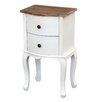 Trade Fair Eliza 2 Drawer Bedside Table