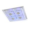 Action Zoe 4 Light Flush Ceiling Light