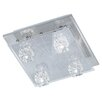 Action Colina 4 Light Flush Ceiling Light