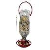Hanging Soda Bottle Feeder - Color: Terracotta - McNaughton Bird Feeders