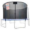 Upper Bounce 15' Round Replacement Trampoline Safety Net Using 5 Curved Poles