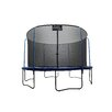 Upper Bounce 12' Replacement Safety Trampoline Net Using 6 Poles